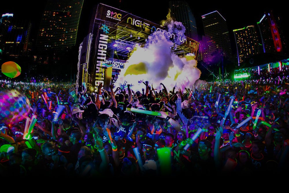 The World's 1st Running Music Festival | Night Nation Run